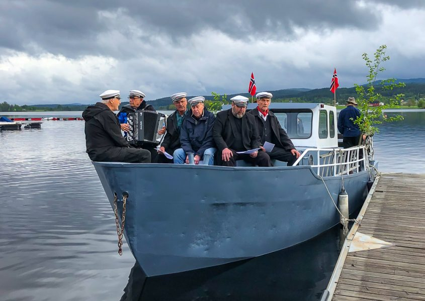 V Arpen Storsjøen